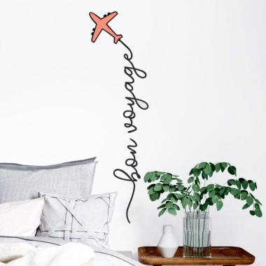 Bon voyage - Stickers muraux décoratifs