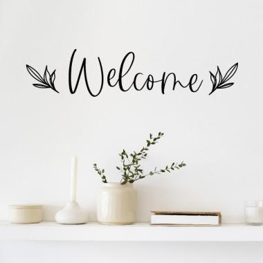Benvinguts - Vinils de disseny per a la llar