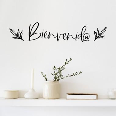 Bienvenid@ - Vinilos de diseño para el hogar