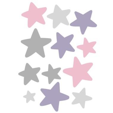 Extra Pack - estrelles patinadora mallot gris