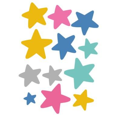 Extra Pack - Estrellas patinadora maillot de colores