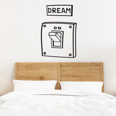 Dream. On - Vinilos decorativos de pared