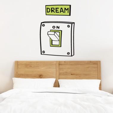 Dream. On - Vinils decoratius de paret