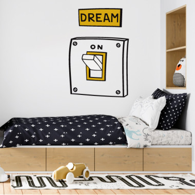 Dream. On - Vinils decoratius de paret