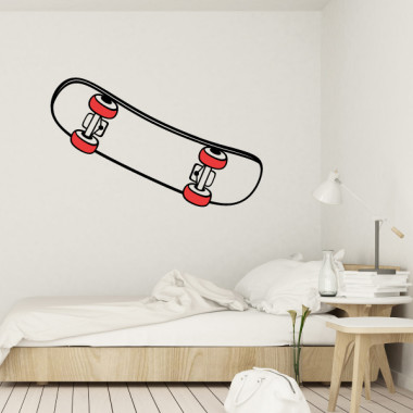 Skate - Stickers muraux pour jeunes