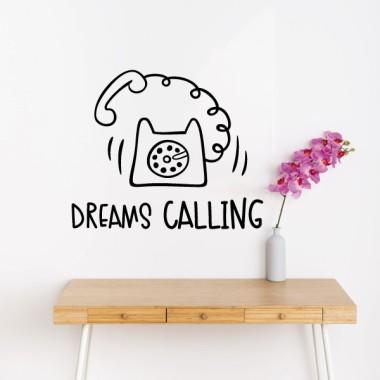 Calling Dreams - Vinils adhesius de paret