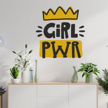 Girl power - Vinils adhesius de paret