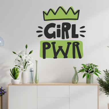 Girl power - Stickers muraux