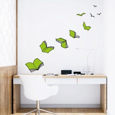 Llegir dóna ales - Vinils adhesius de paret