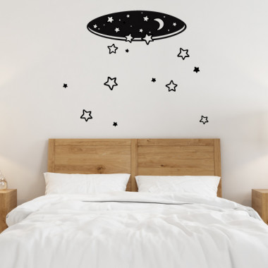 Lluvia de estrellas - Vinilos decorativos casa