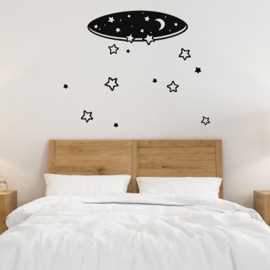 Starfall - Vinyle décoratif pour la maison