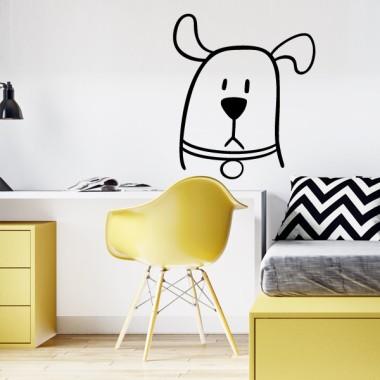Le chien bavard - Stickers muraux jeunesse