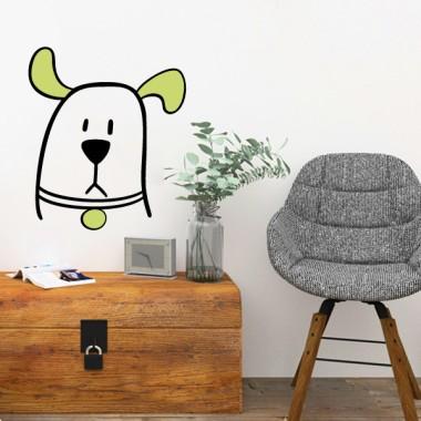 El perro chismoso - Vinilos decorativos juveniles