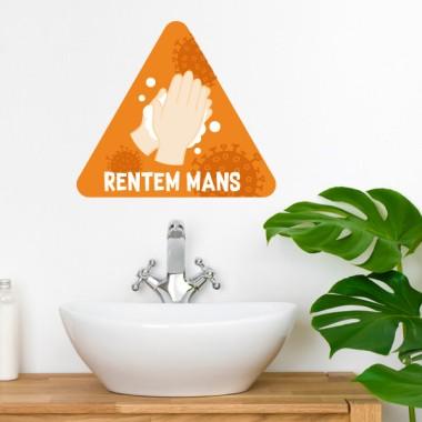 Lávate las manos - Vinilos adhesivos señalización