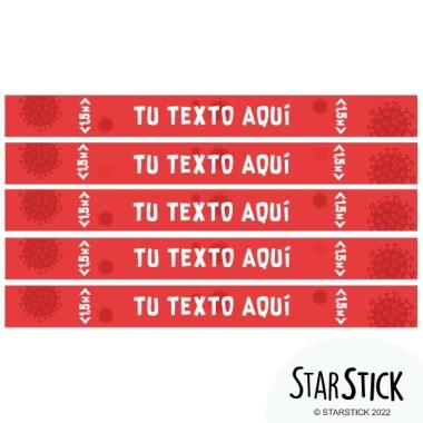 Sticker personnalisé - Stickers de signalisation adhésifs
