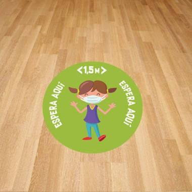 Vinils adhesius - Senyalització divertida per a nens