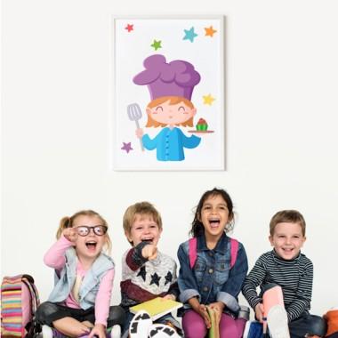 Làmina decorativa infantil - Cuinera