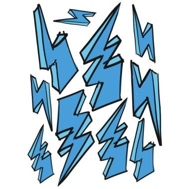 Rayos de colores - Vinilos decorativos Vinilos infantiles Niño Original vinilo decorativo con rayos de distintos tamaños. Se puede elegir entre un pack con rayos de distintos colores o todos del mismo color. Una vez selecionado el modelo que más se adapte al estilo de vuestro espacio, sólo faltará repartir los rayos a vuestro gusto. Una forma rápida y divertida de decorar los ambientes infantiles o juveniles. Medidas aproximadas del vinilo infantil montado (ancho x alto) Básico:100x60 cmPequeño:145x100 cmMediano:185x120 cmGrande:260x160 cmGigante:300X175 cm AÑADE UN NOMBRE AL VINILO DESDE 9,99€  vinilos infantiles y bebé Starstick