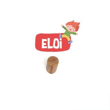 Colgador infantil personalizado - Niño Eloi