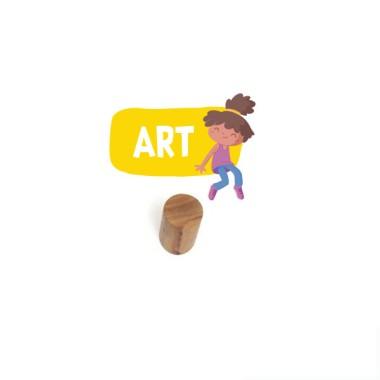Penjador infantil personalitzat - Nena Emma