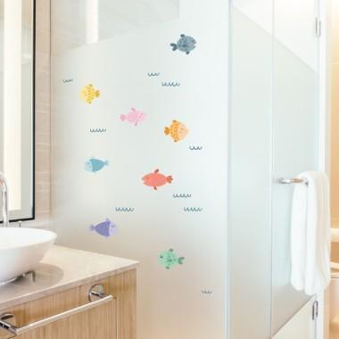 Peixos de colors - Vinils multiús resistents a l'aigua