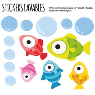Peixos Play - Vinils multiús resistents a l'aigua