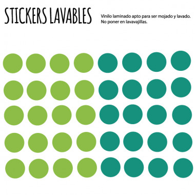 Confetti. Couleur à choisir - Stickers polyvalents