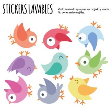 Ocellets de colors. Play - Vinils multiús resistents a l'aigua