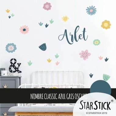 Vinil decoratiu amb flors - Vinils decoratius de paret