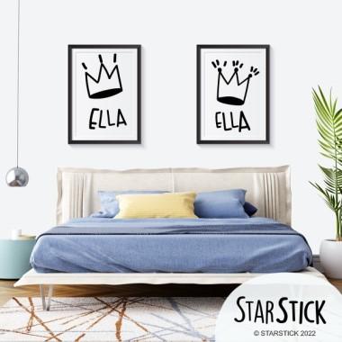 Pack de 2 làmines decoratives - Ella i Ella
