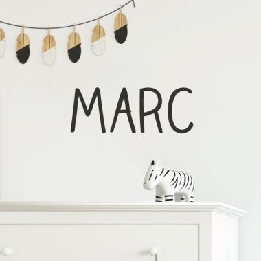 Nom Happy - Sticker pour enfants