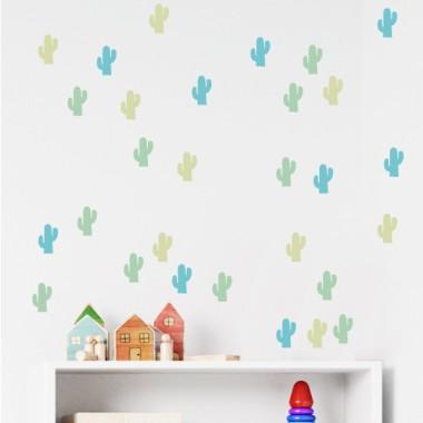 Cactus - Vinil decoratiu estil nòrdic