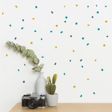 Sticker décoratif - Pinzellades