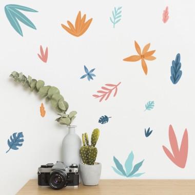 Stickers décoratifs - Plantes tropicales