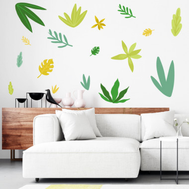 Stickers décoratifs - Plantes tropicales