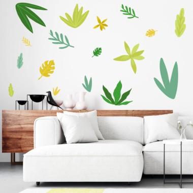 Vinilo decorativo - Plantas tropicales