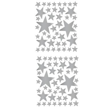 85 Estrelles Platejades - Vinil estrelles decoratives