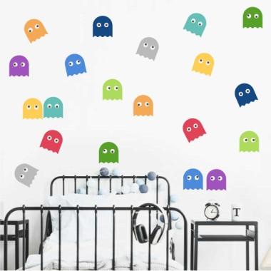 Comecocos - Stickers décoratifs