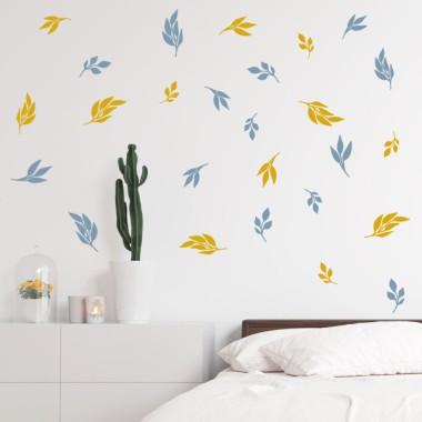 Sticker décoratif - Feuilles nature