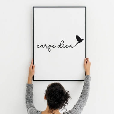 Carpe Diem - Lámina decorativa de pared