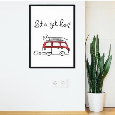Let 's get lost - Làmina decorativa