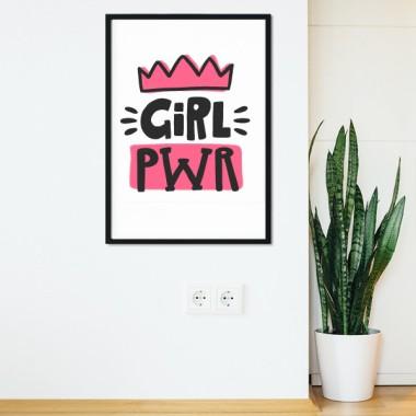 Girl power - Toiles décoration d'intérieur