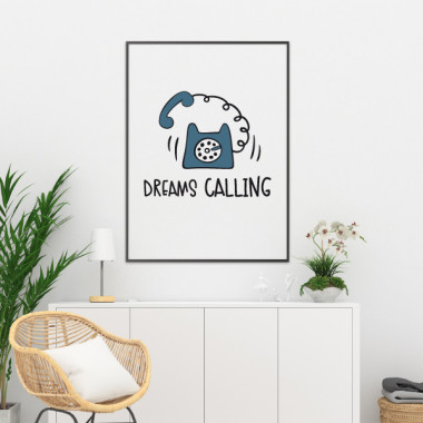 Dreams Calling - Làmina decorativa