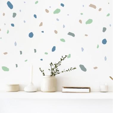 Sticker décoratif - Terrazzo - Mint