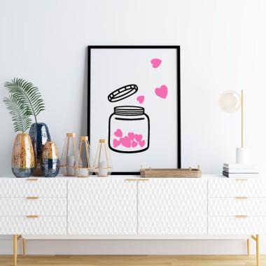 Làmina decorativa - El pot de l'amor