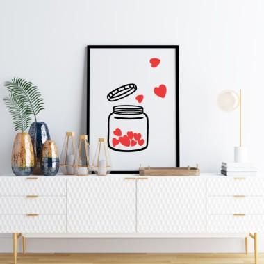 Toiles décoration d'intérieur - Le bateau de l'amour