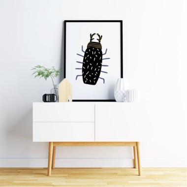 Toiles décoration d'intérieur - Happy bugs - 3