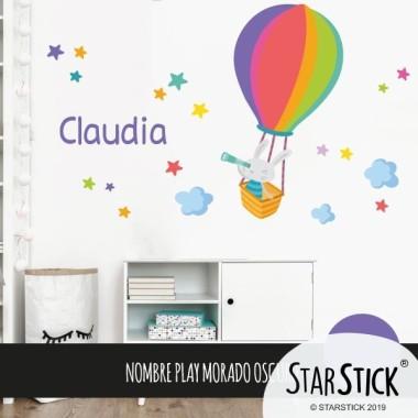 Stickers pour enfants - Lapin explorateur
