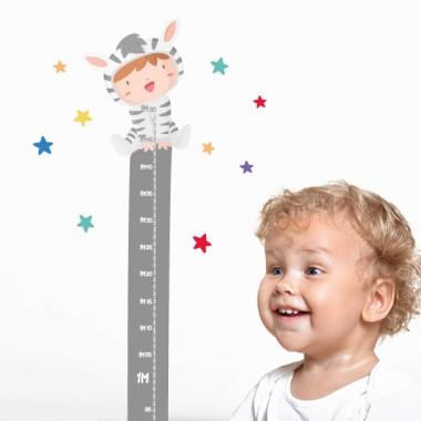 Bébés déguisés - Sticker toise