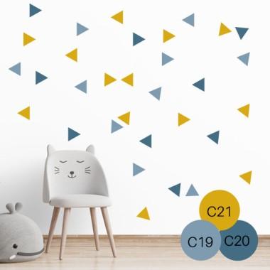 Triangles BIG - 3 colors a escollir - Vinils decoratius per a la llar